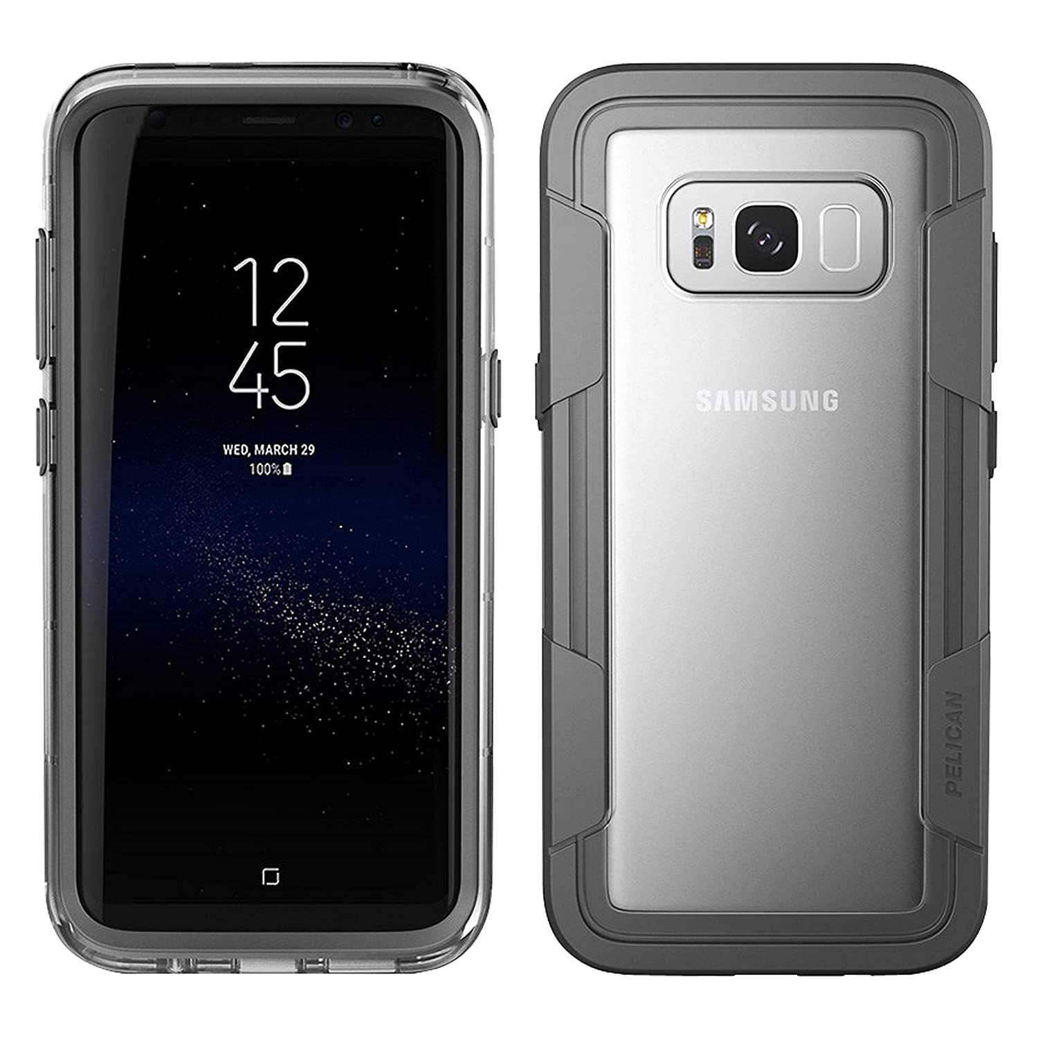 huge selection of 0d3a7 3243f Pelican Voyager Samsung Galaxy S8 Active Case (Black): Amazon.ca ...