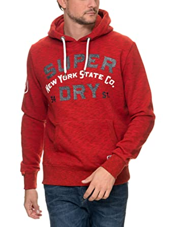 Superdry Jungen Sweatshirt Rot rot X Large: