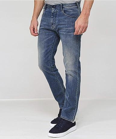 Amazon.com: Armani J45 - Pantalones vaqueros para hombre ...