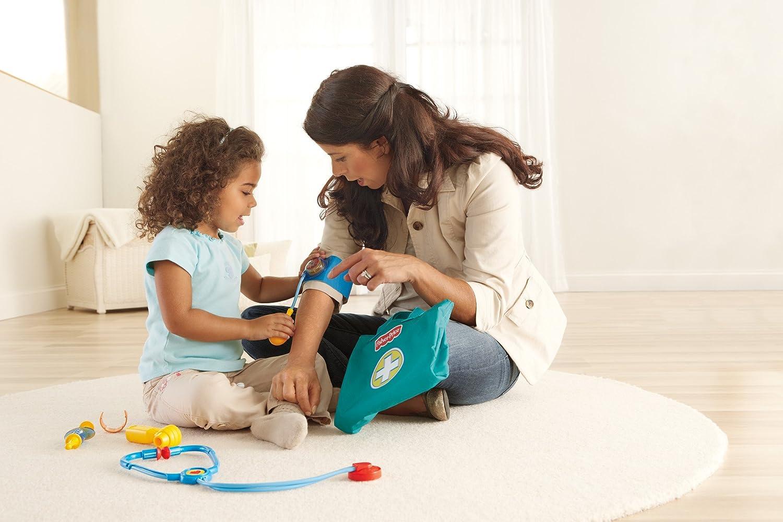 fisher price medical kit equipment doctor nurse pretend. Black Bedroom Furniture Sets. Home Design Ideas