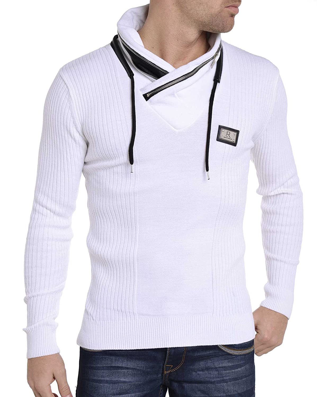 BLZ jeans - White collar sweater original