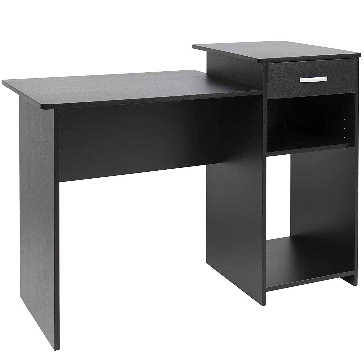 office wood desk. Amazon.com : Best Choice Products Student Computer Desk Home Office Wood Laptop Table Study Workstation Dorm Bk