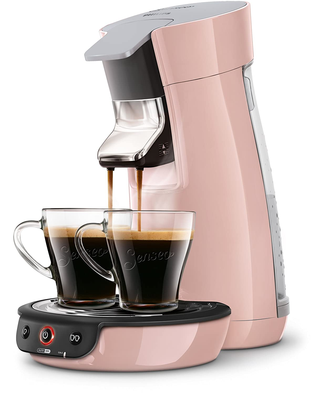 Senseo HD7829/30Macchina da caffè Viva Café, per cialde, tecnologia Kaffee Boost, rosa Philips Senseo