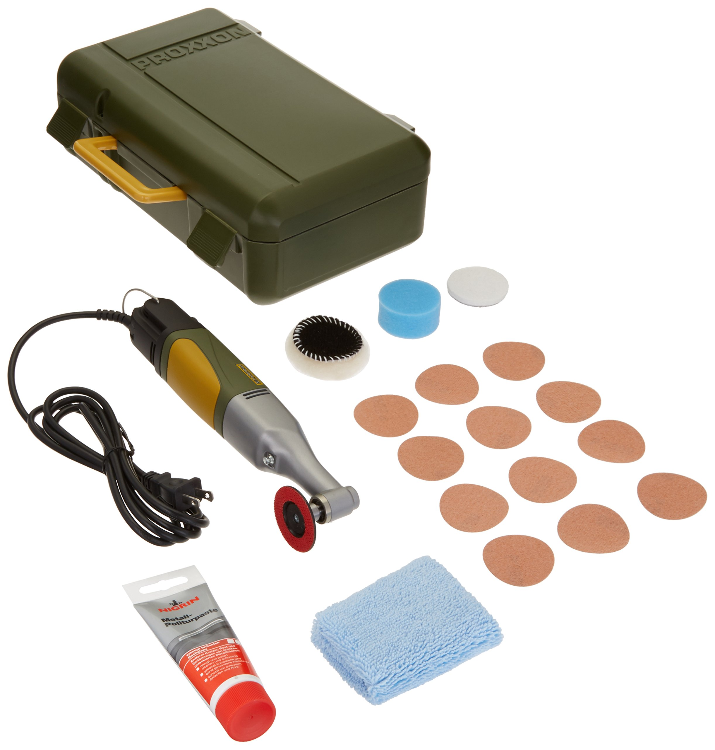Proxxon 38660 Angle Polisher, Yellow/Green/Black by Proxxon (Image #1)