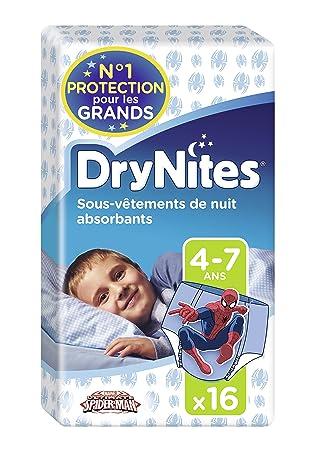 Huggies DryNites Calzoncillos Absorbentes para Niños, 4-7 Años (17 - 30 Kg) - 16 Pañales: Amazon.es: Amazon Pantry