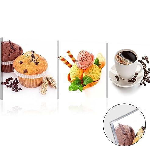 murando - Acrylglasbild Kaffee 120x40 cm - Glasbilder - Wandbilder ...