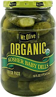 product image for MOUNT OLIVE Organic Baby Dills, 16 FZ