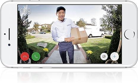 Ring - Timbre con video Wi-Fi – Latón pulido: Amazon.es: Electrónica