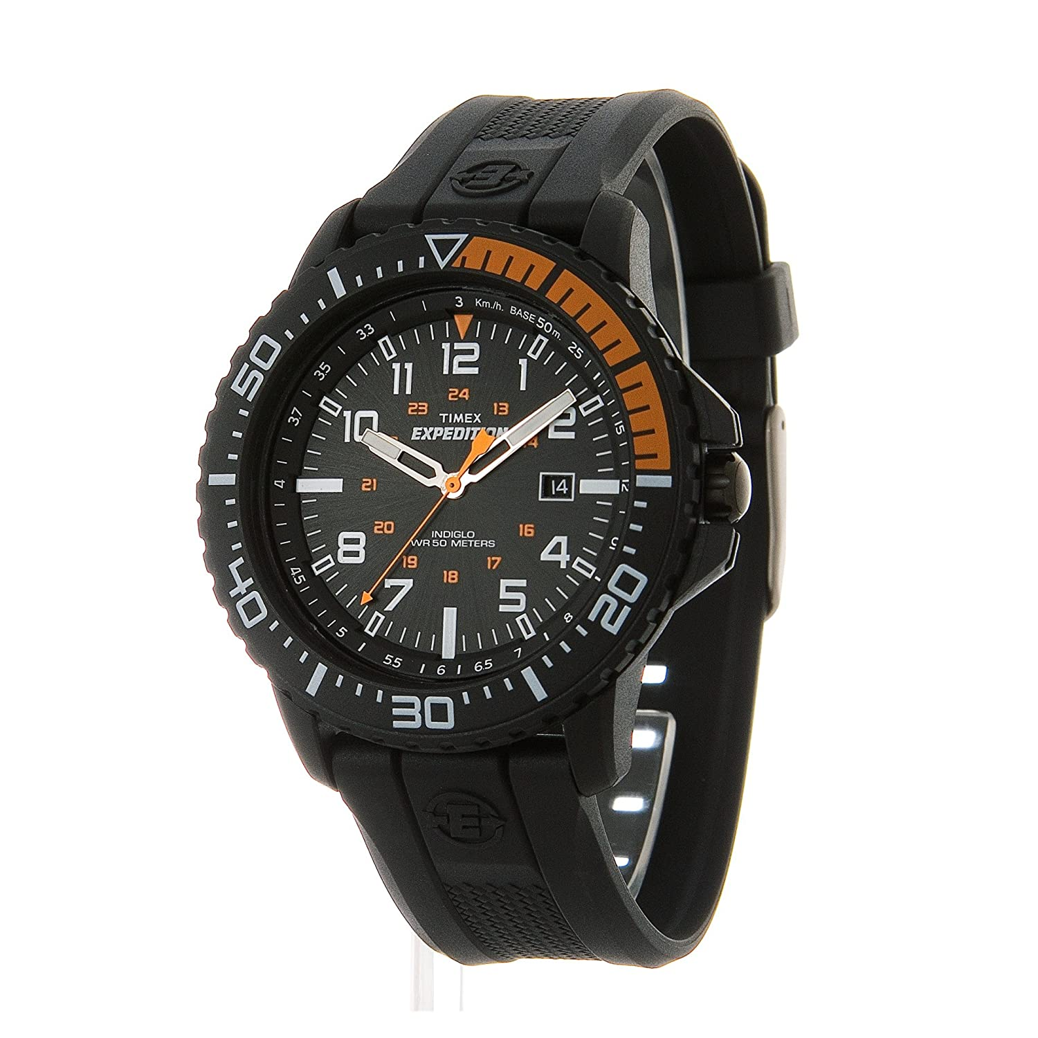 Amazon.com: Timex T49940 Mens Expedition Uplander Black Watch: Health & Personal Care