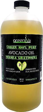 GreenIVe - Avocado Oil - 100% Pure Avocado Oil - Cold
