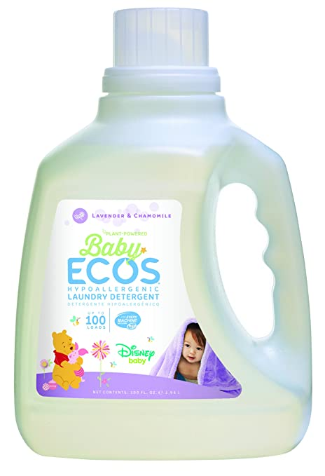 Earth Friendly Products Baby Ecos Laundry Detergent, Lavender and Chamomile, 100 Ounce