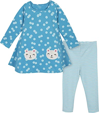 Gerber Girls Dress and Legging Set