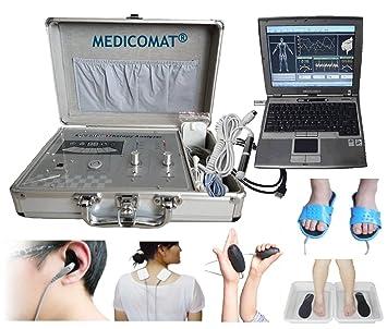 Medicomat Health Computer System con Amway Qauntum Health Analyzer puede ayudar al vendedor de Amway a