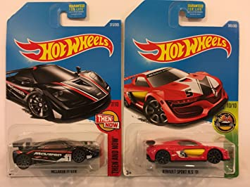 Amazon Com Hot Wheels 2017 Then And Now Mclaren F1 Gtr 315 365