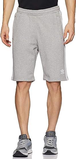TALLA L. adidas Originals 3-Stripe Sht H Pantalones Cortos de Deporte, Hombre
