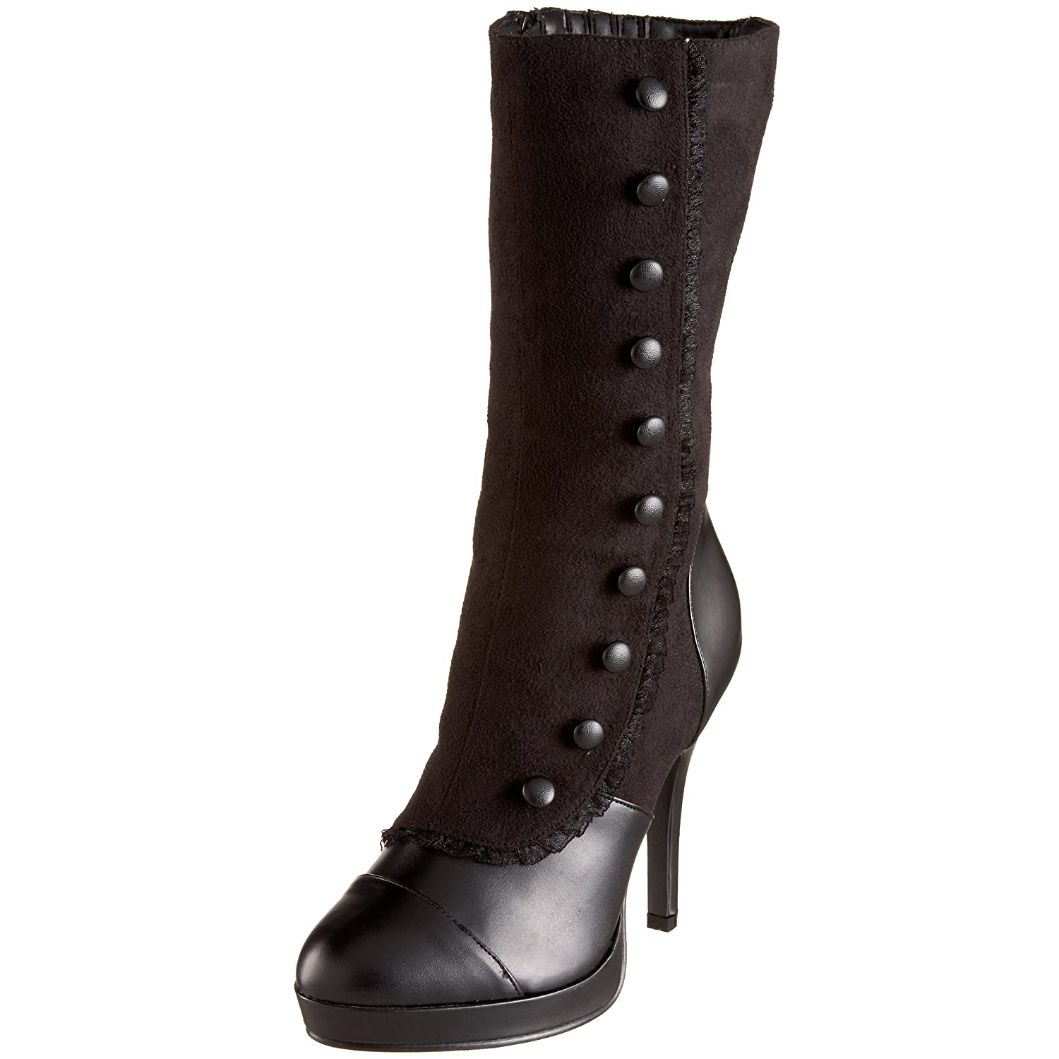 Vintage Boots, Granny Boots, Retro Boots  Womens Splendor-130 Mid-Calf Boot $45.96 AT vintagedancer.com