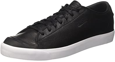 official photos a7989 022a9 Nike Herren All Court 2 Low Leather Sneaker Schwarz Black White, 40.5 EU