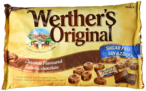 Werthers Original, Caramelo duro (Sabor chocolate) - 2 de 1000 gr. (
