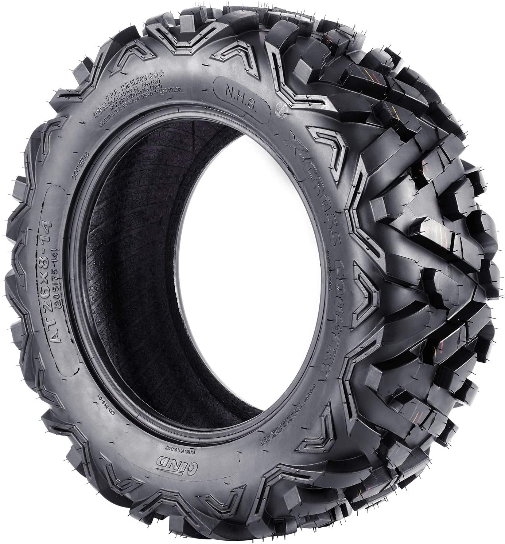 ATV Mud Tires 26x8-14 26x10-14 ATV Tires 26 inch Set of 4 26x8x14 26x10x14 6PR