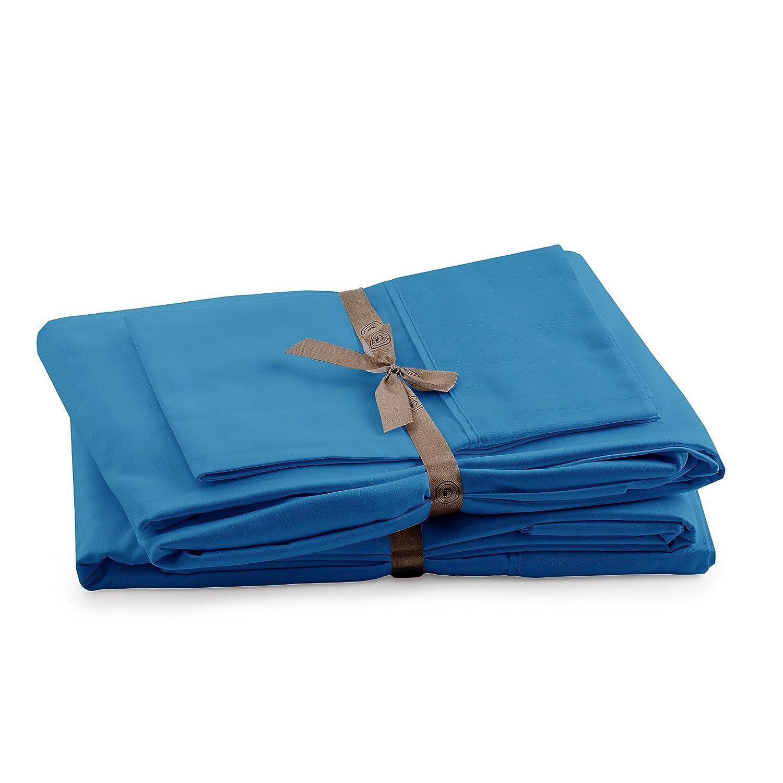 Queen, White 100/% Peruvian Pima Cotton Percale 415 Thread Count Bed Sheet Set Peru Pima CO022071