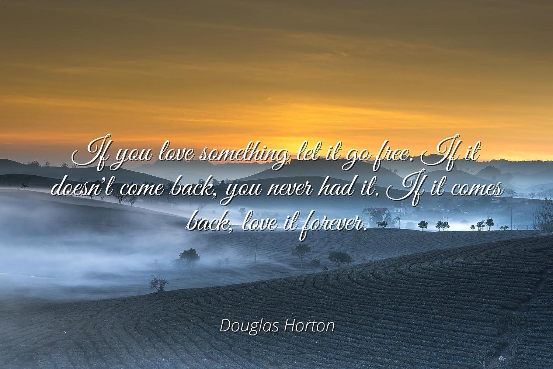 Amazon Douglas Horton Famous Quotes Laminated Poster Print