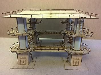 Huge landing pad - Wargames Building/scenery/terrain for