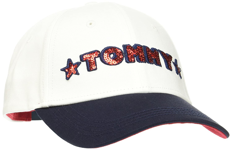 Tommy Hilfiger Team Tommy Cap Gorra de béisbol, Negro (Corporate ...