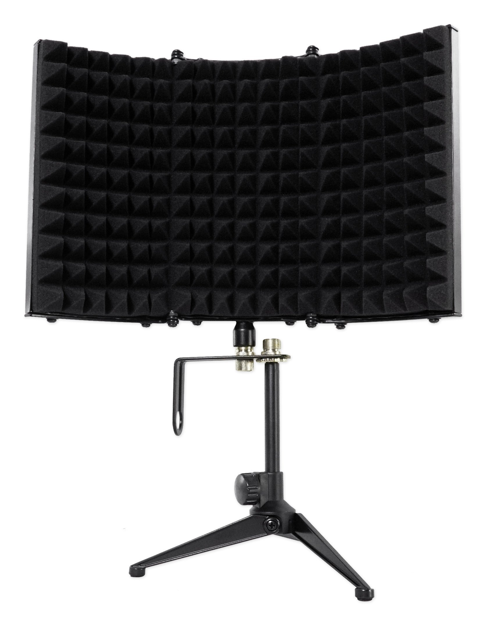 Rockville RMF1 Studio Microphone Isolation Shield with Sound Dampening Foam