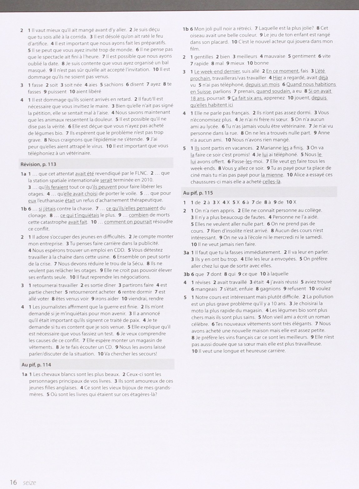 Edexcel A Level French Grammar Practice Book: Amazon.co.uk ...