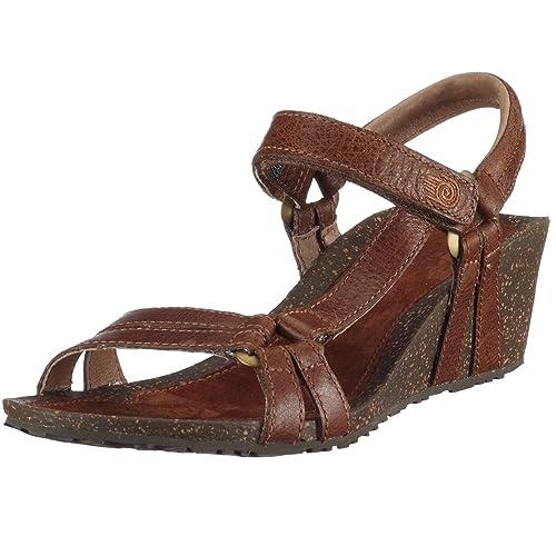 ab5026e08 Teva - Ventura Cork 2 Wedge Leather - Women (Wheat 11)  Amazon.in ...