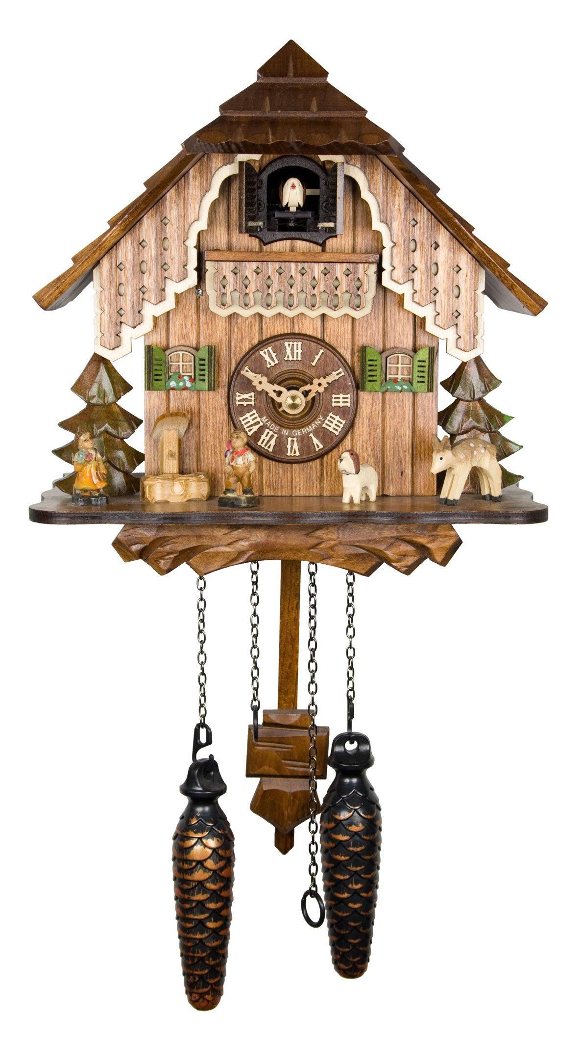 Adolf Herr Quartz Cuckoo Clock - The House in the Black Forest AH 19 QM