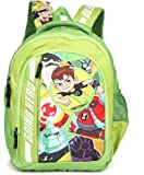 HMI Original Licensed Ben 10 32 Ltrs Multi-Colour School Backpack (HMHISB 30606-BEN)