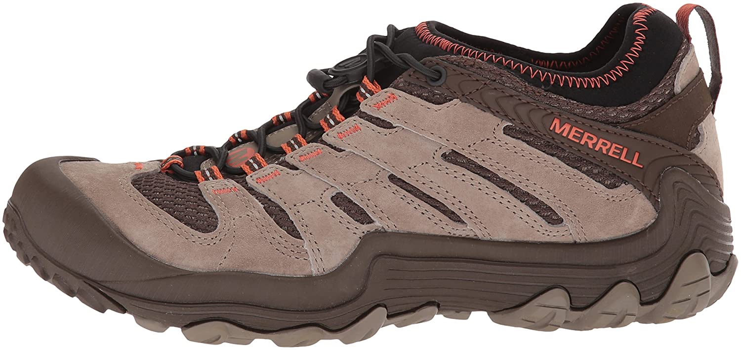 Merrell Women's Chameleon 7 Limit Stretch Hiking Boot B0725R6L4P 8.5 B(M) US|Brindle