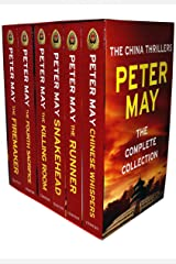 Peter May Collection China Thrillers 6 Books Box Set (The Firemaker, The Fourth Sacrifice, The Killing Room, Snakehead, The Runner, Chinese Whispers) Paperback