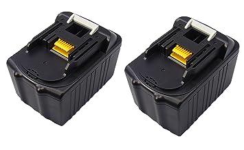 Makita Entfernungsmesser Gebraucht : 2x 18v 6.0ah werkzeug makita akku bl1830 bl1840 bl1850 bl1860