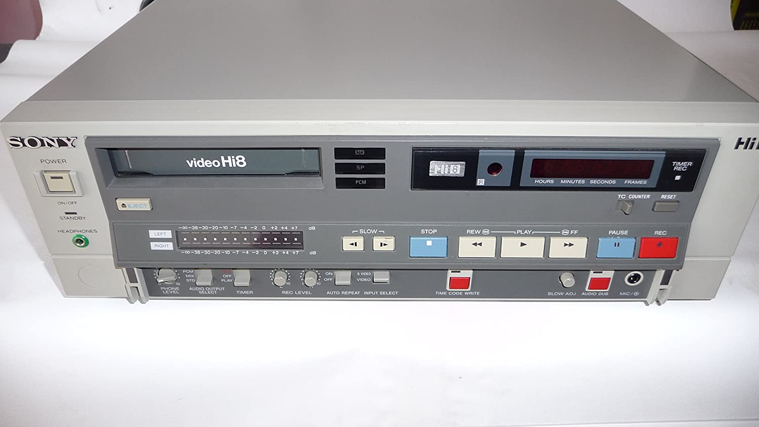 Sony Evo-9500 Professional Hi8 Video 8 VCR Top of the Line