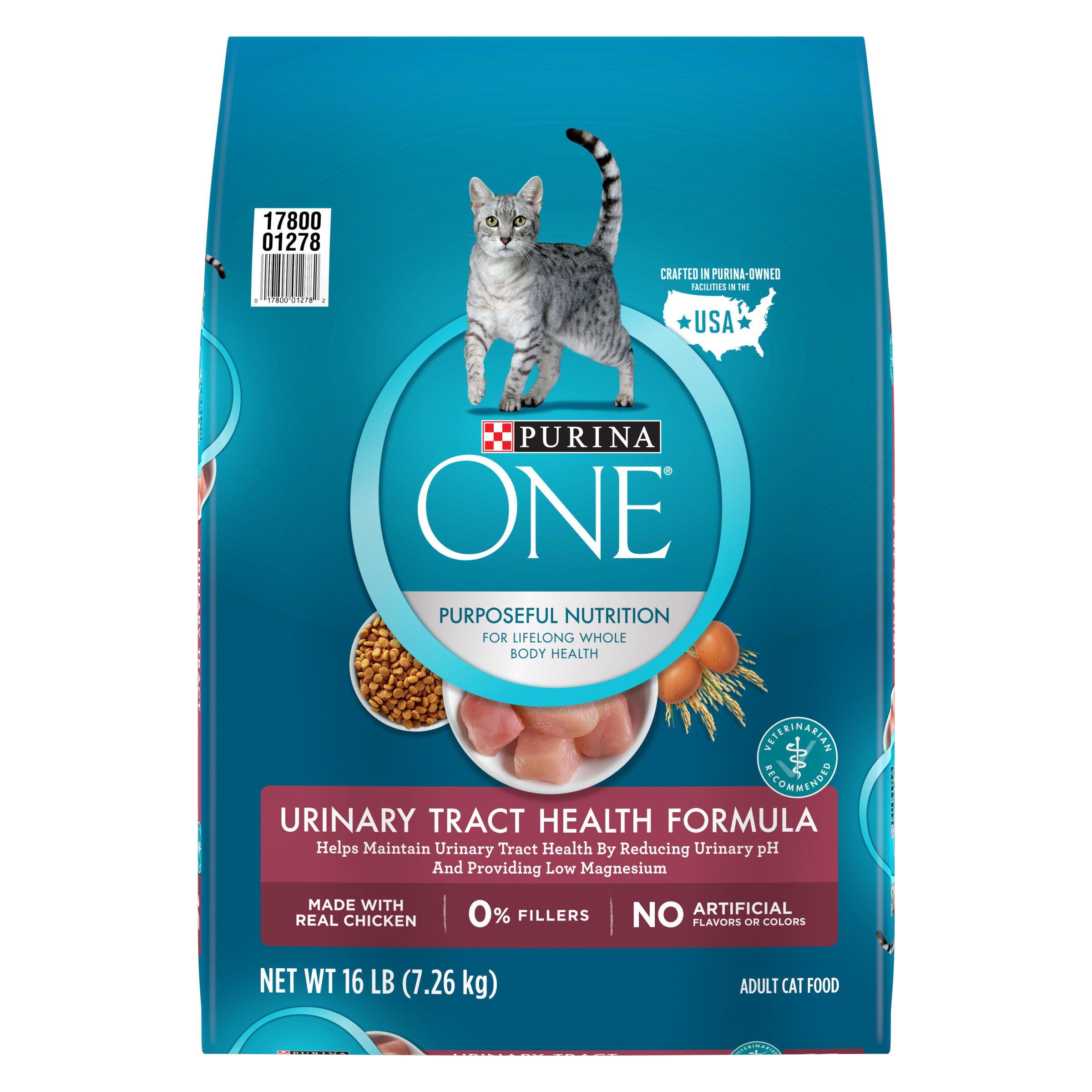 Purina ONE Urinary Tract Health Formula Adult Dry Cat Food - 16 lb. Bag