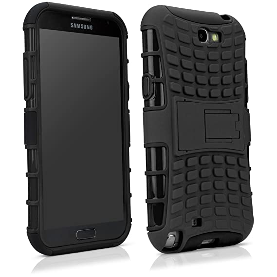 factory authentic 08541 a722b Tuff-Site Samsung Galaxy Note 2 Case - Extra Rugged TPU Case with a  Collapsible Stand, Double-Layered Gives Extra Protection, Featuring  Extra-Grip ...