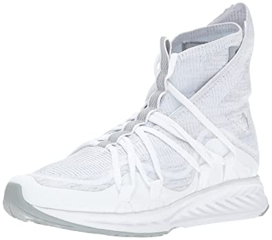 39e68748c183 PUMA Men s Ignite Evoknit Fold Sneaker White-Quarry
