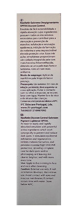 NEORETIN Discrom Control Gelcream 40ML: Amazon.es: Salud y cuidado ...