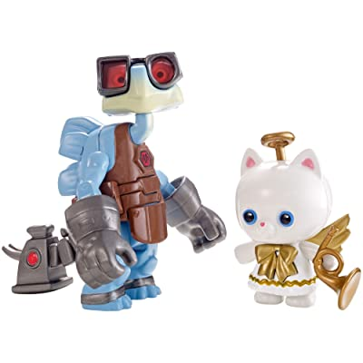 "Disney/Pixar Toy Story 4"" Angel Kitty And Raygon Figure, 2 Pack: Toys & Games"