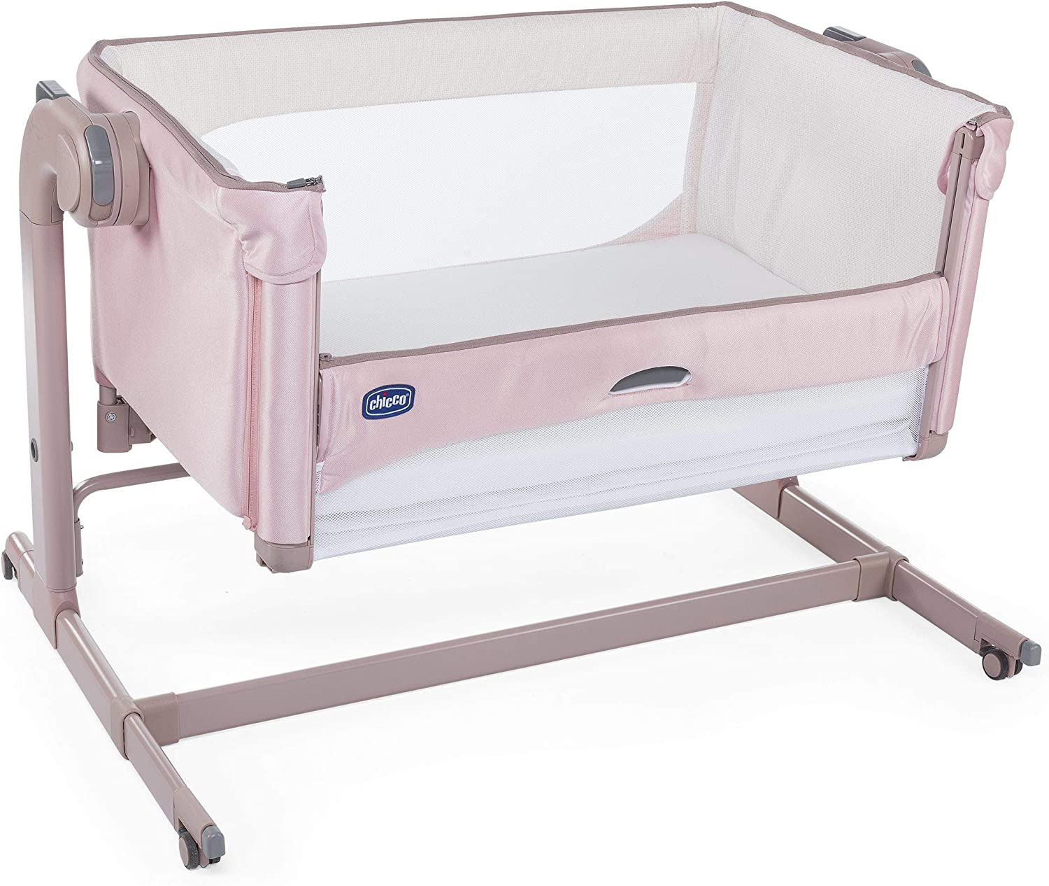 Culla side-sleeping next 2 me magic colore candy pink 0m+: Amazon ...