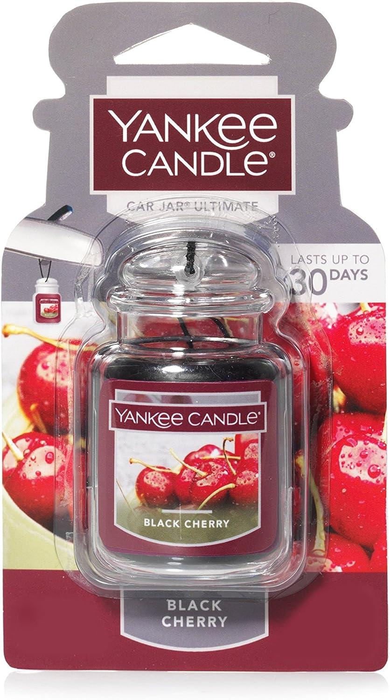 Unica Multicolore Yankee Candle 1593349E Black Cherry Refill Charming profumatore per Auto