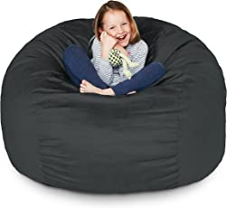 bean bag chairs for adults. Lumaland Luxury Bean Bag Chair With Microsuede Cover In Different Sizes And Colours, Mashine Washable Chairs For Adults G