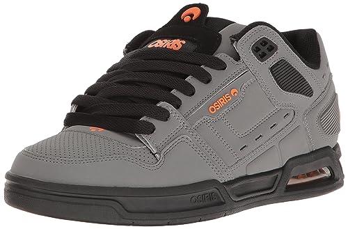 Osiris Shoes - Zapatillas de Skateboarding de Cuero Nobuck para Hombre Charcoal Black Orange Size: US 6.5 EUR 38.5 CM 24.5: Amazon.es: Zapatos y ...