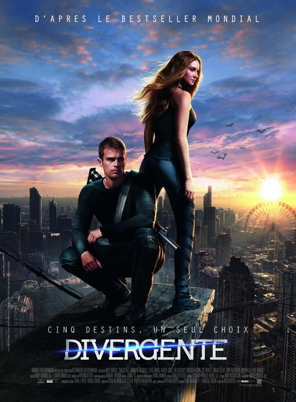 Divergente + Divergente 2 : Linsurrection [Blu-ray]: Amazon.es: Shailene Woodley, Theo James, Naomi Watts, Daniel Dae Kim, Kate Winslet, Ashley Judd, Jai Courtney ...