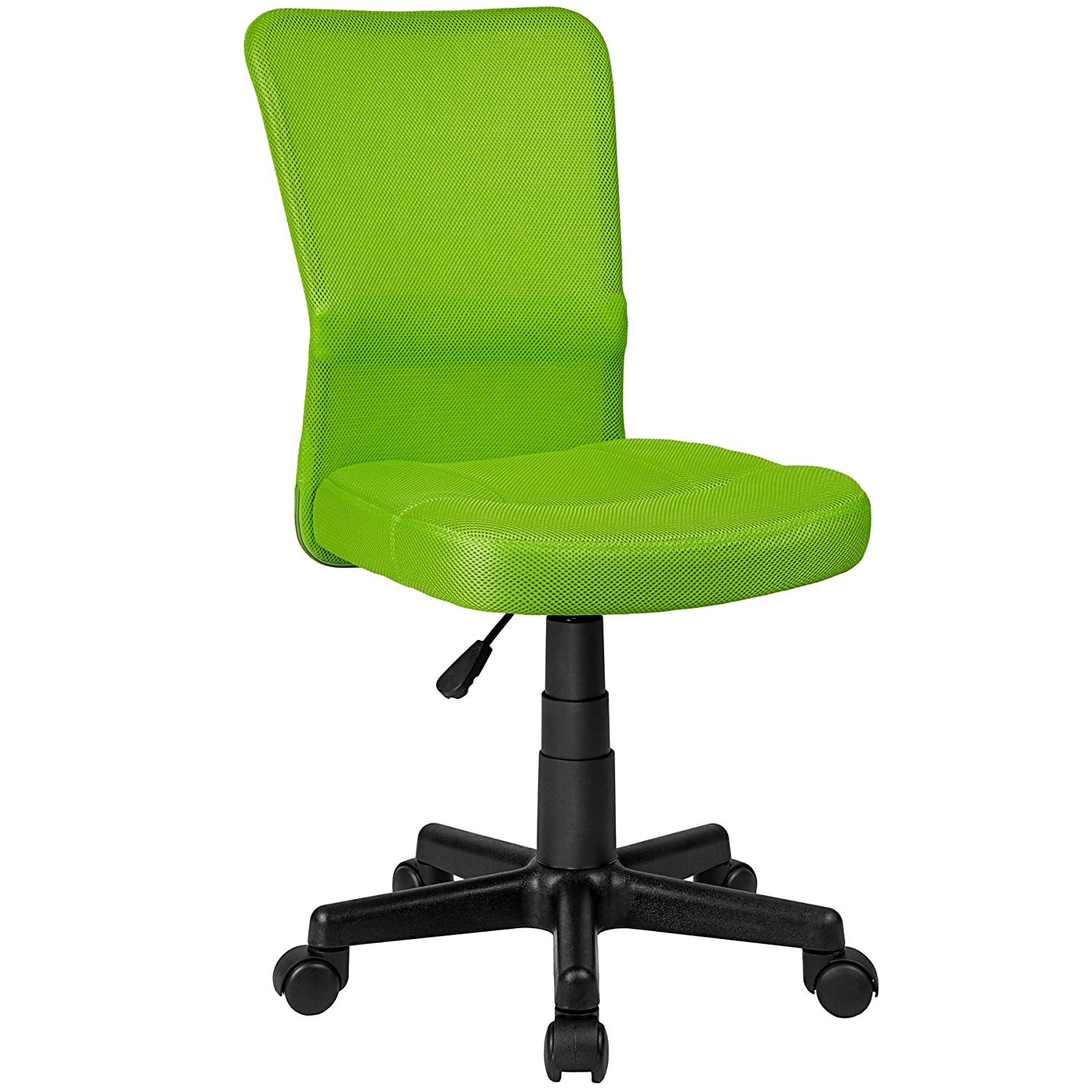 tectake office computer chair green amazon co uk kitchen home
