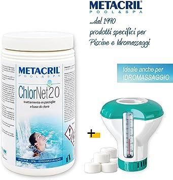 Cloro (Pastillas de 20 gr. 1 kg. Tricloro estabilizado Activo al ...