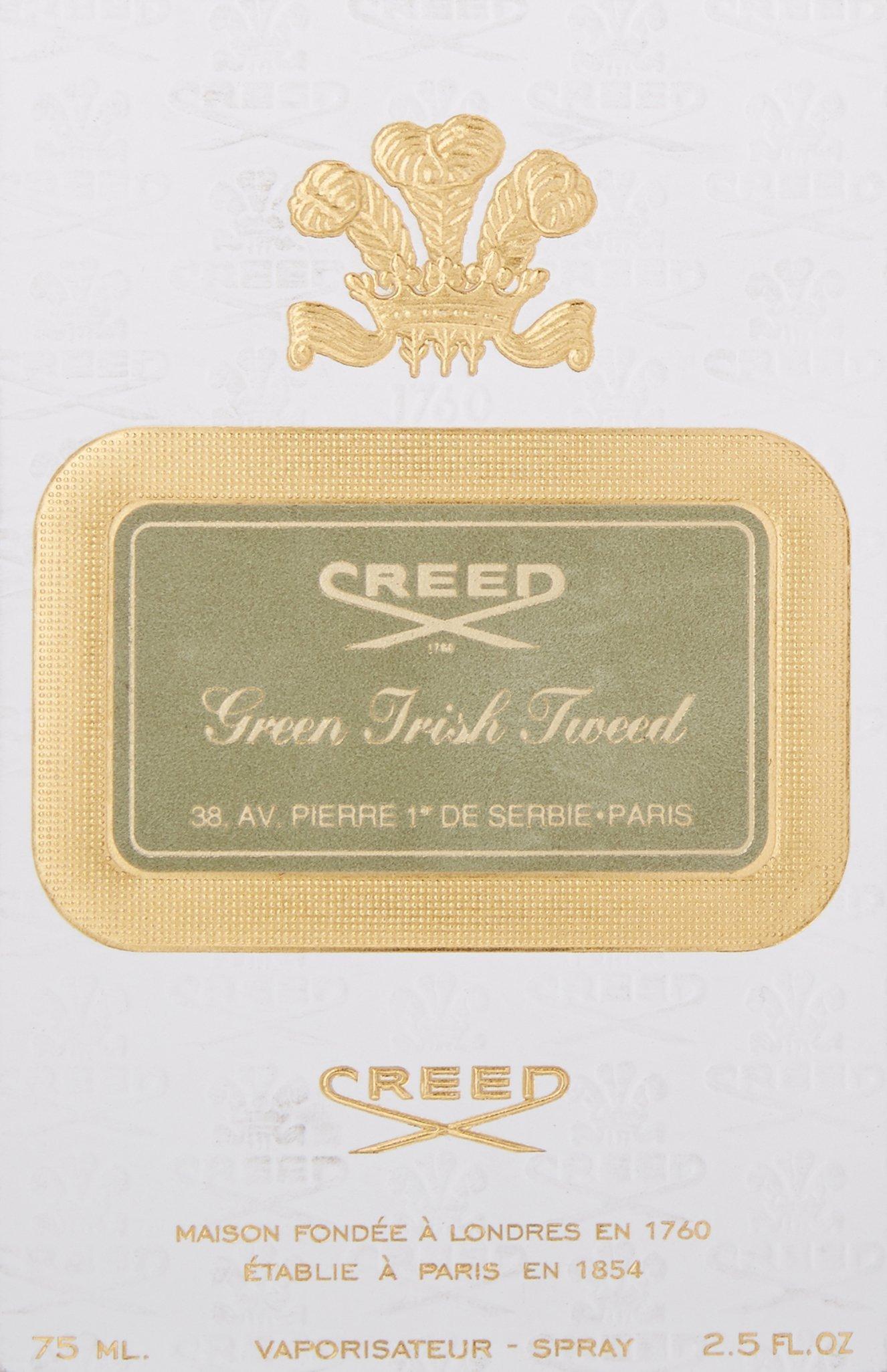 Creed Green Irish Tweed Millesime Eau De Parfum Spray, 2.5 Ounce