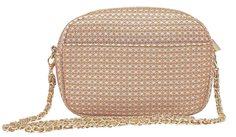 Becksöndergaard Damen Tasche Paya Graphic Braun Autumn Leaf Schultertasche Größe  20 x 14,5 cm - 1901412026-189 B07PG99KXW Schultertaschen Verbraucher zuerst
